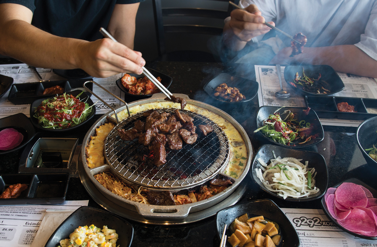 Best New Restaurants In Atlanta 9292 Korean Bbq
